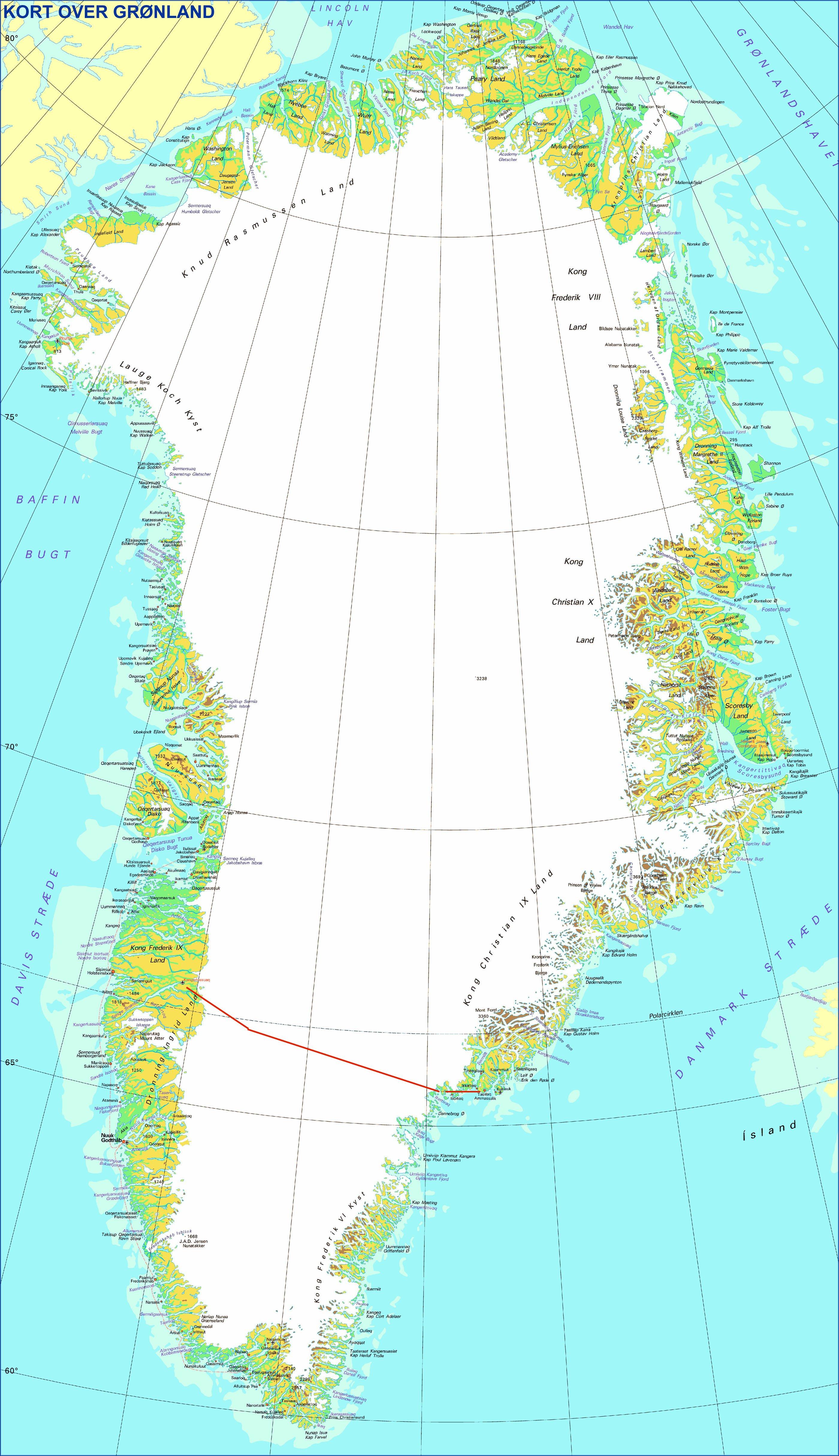 kart grønland index.html kart grønland